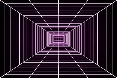 格子,三维图形,未来,80年代风格,磷光,科幻片,霓虹灯,计算机图形学,计算机制图,复古风格