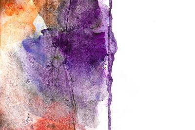抽象,背景,水彩画,品红色,水彩颜料,涂料,留白,艺术,水平画幅
