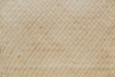 柳条,纹理效果,自然,草席,沙滩垫,竹子,席子,奶油色,留白,夏天