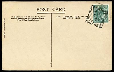 明信片,古典式,英国,空白的,20世纪,盖过邮戳的邮票,信件秤,邮戳,1900年至1909年,贺卡