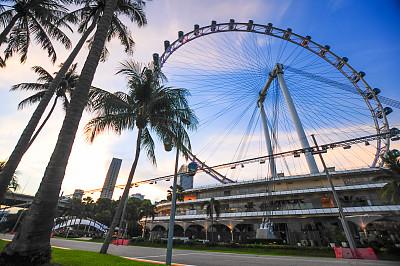新加坡市,都市风景,城市生活,全景,滨海湾公园,滨海湾 ,新加坡河,金沙酒店空中花园,滨海湾金沙酒店,新加坡