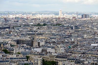 巴黎,都市风景,全景,圣日耳曼德佩季度,马莱区,拉丁区,莱斯恩范李德斯城区,香榭丽舍大道,林荫大道,埃菲尔铁塔