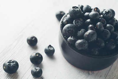 蓝莓,选择对焦,水,留白,水平画幅,无人,湿,特写,彩色图片,大量物体