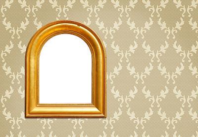 相框,华丽的,全部,留白,壁纸样本,古董,边框,艺术,水平画幅,墙