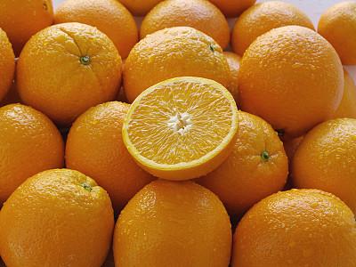 橙子,堆,委内瑞拉,正面视角,水平画幅,高视角,无人,有机食品,湿,熟的