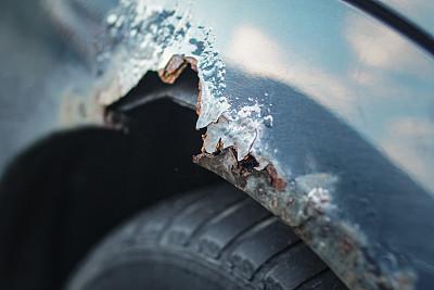 生锈的,保险杠,挡泥板,起落架,无边女帽,底盘,车体,废旧汽车场,废金属