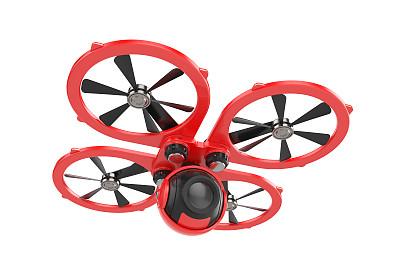 无人机,相机,红色,奥克脱科普特,无线手持机,四轴飞行器,螺旋桨,自动的,遥控汽车,水平画幅