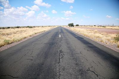 在边上,高架道路,天空,新的,水平画幅,无人,交通,透视图,自由,方向