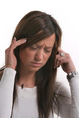 垂直画幅,办公室,头痛,悲痛,情绪压力,人群,珠宝,偏远的,恐惧,图像