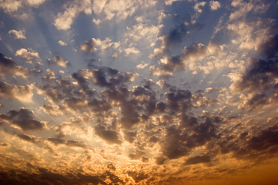 黎明,黑云压城,天空,宁静,水平画幅,夜晚,无人,曙暮光,黄昏,户外