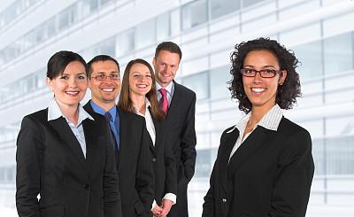 青年人,商务,团队,办公室,水平画幅,工作场所,顾客,伴侣,人群,商务关系