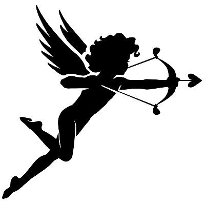 丘比特,小天使,射箭弓,箭,无人,绘画插图,天使,翅膀,方形画幅,彩色图片
