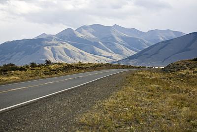 地形,莫雷诺冰川,圣克鲁斯省,蜿蜒,水,水平画幅,无人,夏天,户外,草