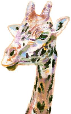 长颈鹿,动物园,垂直画幅,绘画插图,野生动物,艺术,无人,野外动物,背景分离
