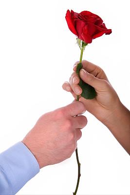 玫瑰,抵押文件,花店,垂直画幅,人群,部分,彩色图片,成年的,商务,情人节