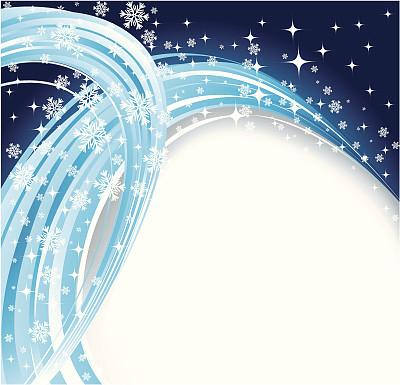 雪花,波形,寒冷,华丽的,请柬,圣诞装饰物,一月,新年前夕,霜,雪