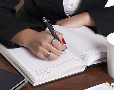 女人,笔记本,笔记本电脑,水平画幅,图像,特写,日记,仅成年人,开着的,白领