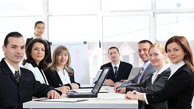 商务会议,会议室,会议中心,套装,男商人,男性,仅成年人,青年人,白色,彩色图片