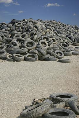 古老的,堆,轮胎,巨大的,垃圾填埋场,废旧汽车场,垂直画幅,垃圾,车轮,机动车