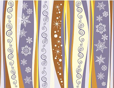 背景,节日,数字2,美,新的,艺术,纹理效果,雪,无人
