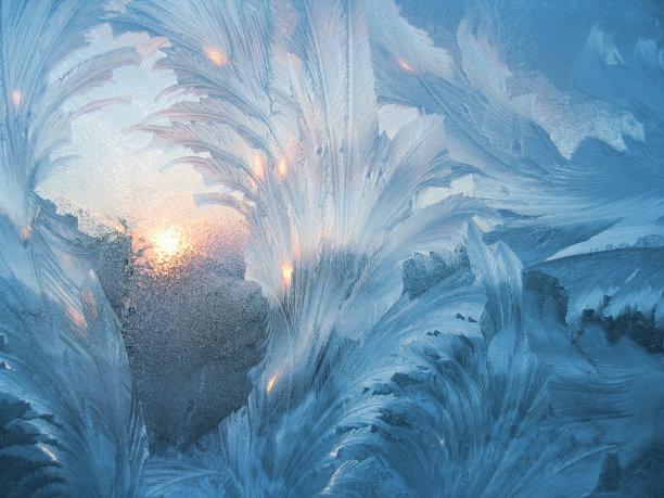 冰日光图片