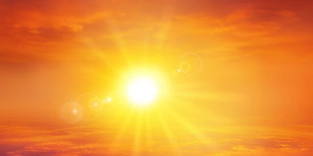 全景,热,天空,美,水平画幅,曙暮光,夏天,云景,明亮,高处