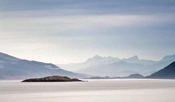 挪威云图片