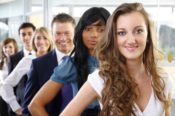 商务关系,成一排,一排人,少量人群,套装,图像,经理,男性,仅成年人,现代