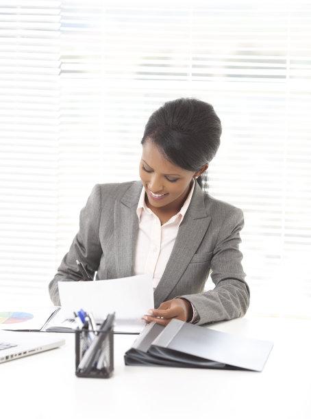 办公室,女商人,报告,埃塞俄比亚人,垂直画幅,忙碌,套装,非裔美国人,图像,经理