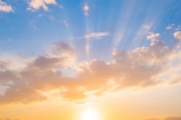 天空,多云,积雨云,地平线,云景,日光,云,太阳,戏剧性的天空,风