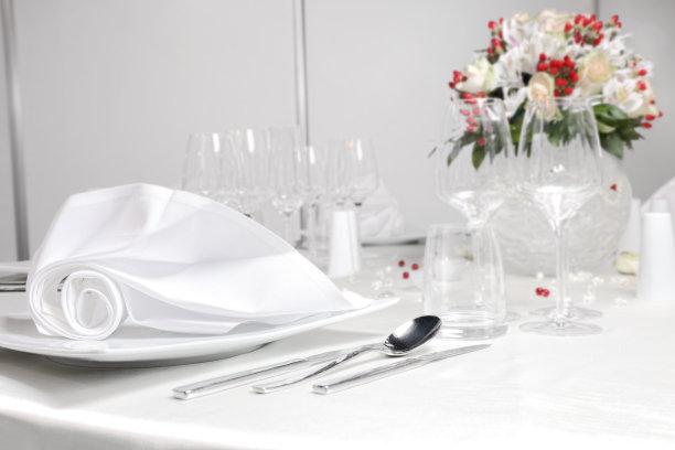 桌子,婚礼,留白,纺织品,餐厅负责人,花束,婚姻,餐巾,晚餐,蜜月