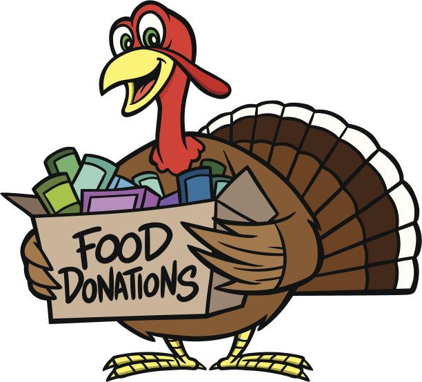 捐款箱,食品,慈善捐赠,留白,慈善救济,饮食,食品杂货,秋天,家禽,绘画插图