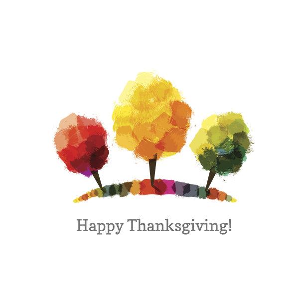绘画作品,绿色,橙色,秋天,无人,色彩鲜艳,绘画插图,涂料,红色,热
