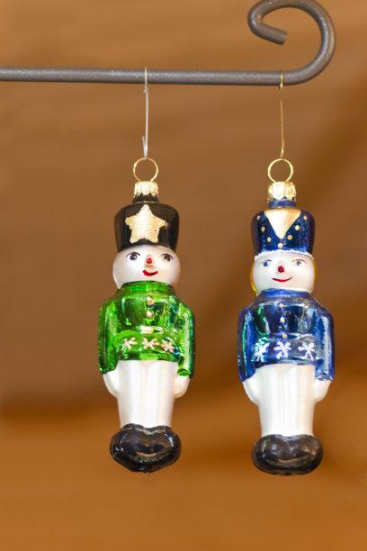 圣诞树,胡桃钳,垂直画幅,正面视角,留白,新的,形状,无人,符号