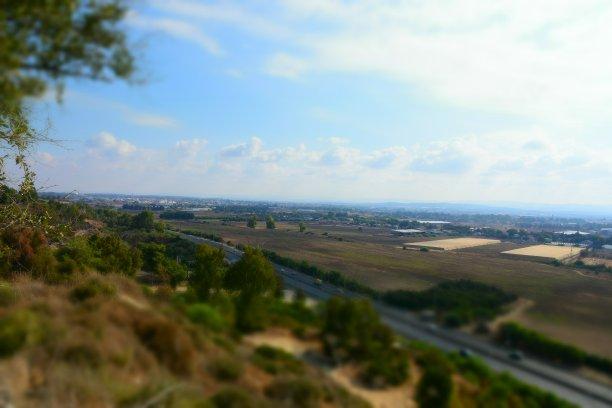 山,看风景,天空,留白,水平画幅,透过窗户往外看,无人,曙暮光,户外,方向