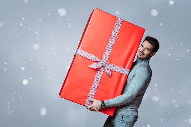 包装纸,重的,水平画幅,注视镜头,雪,巨大的,盒子,电子商务,套装