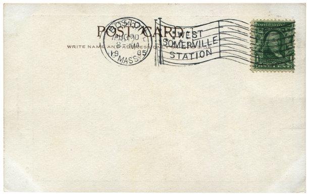 明信片,空白的,美国,背景,传统,纯洁,1905,沟通,满足