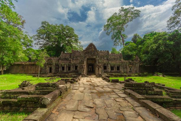 柬埔寨,寺庙,纪念碑,灵性,古老的,天女,石材,卫塞节,国际著名景点,明星