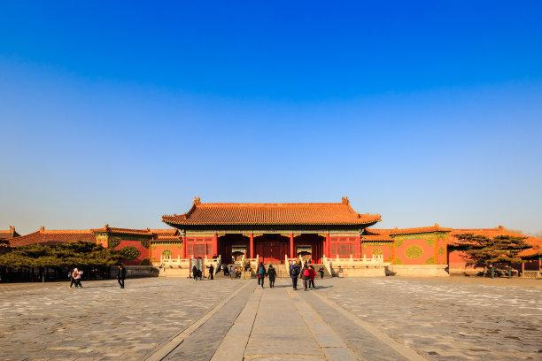 宫殿,中国,过去,顺化王宫,故宫,世界遗产,北京,旅游目的地,水平画幅,无人