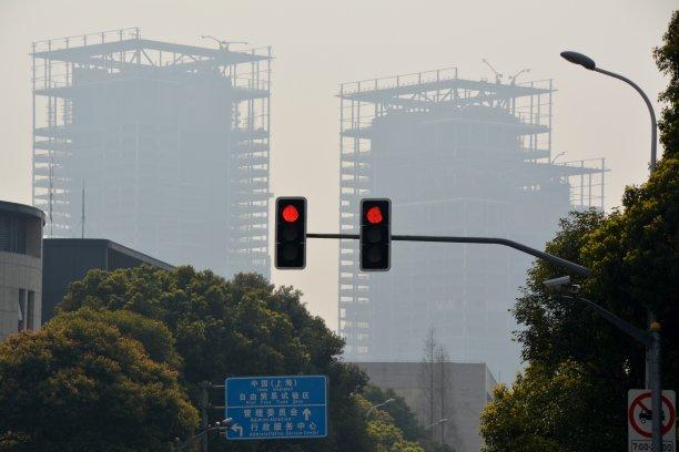 浦东,建筑业,上海,天空,水平画幅,无人,东亚,户外,推拉镜头