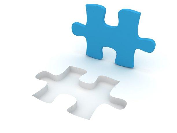 领导能力,谜题游戏,团队,留白,商务策略,水平画幅,无人,复杂性,白色,与众不同