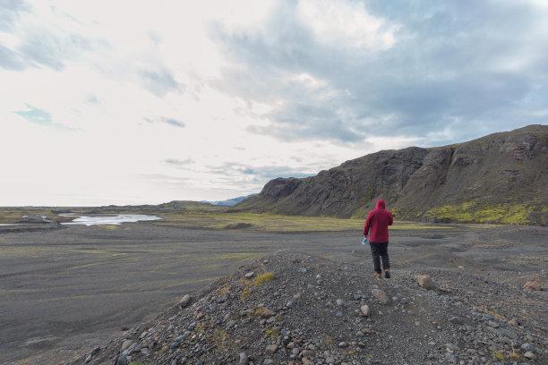 Breieamerkurj?kull glacier in iceland
