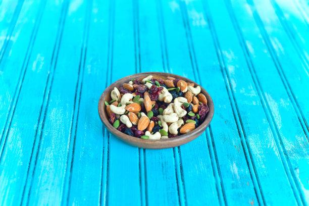 乐趣,干果饼,小吃,坚果,水平画幅,南瓜子,无人,生食,向日葵籽,彩色背景