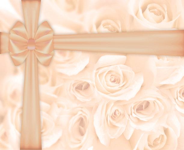 玫瑰,自然美,蜡笔画,贺卡,生日,亲昵,想法,过时的,婚姻,米色