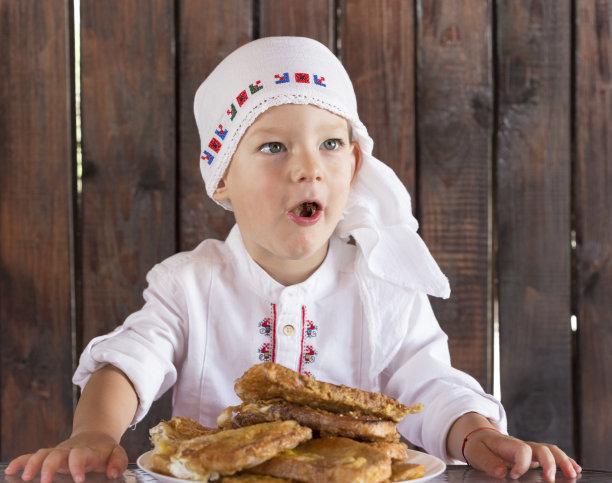 男孩,早餐,水平画幅,膳食,特写,男性,童年,保加利亚,精神振作