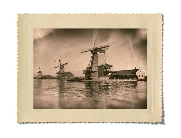 古老的,阿姆斯特丹,白色背景,分离着色,纪念碑,边框,水平画幅,胶卷,户外,云景