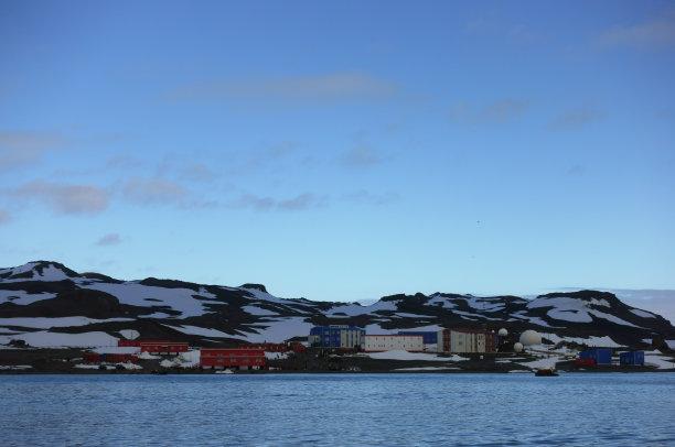 南极洲,车站,长城,自然,洛克莱港,野生动物,旅游目的地,水平画幅,南极半岛,筑巢处