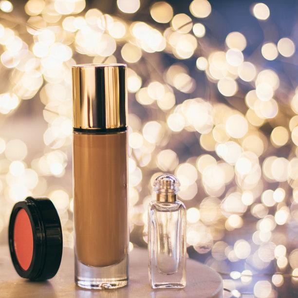 彩妆,化妆用品,华贵,美,无人,spa美容,特写,开着的,润肤露,容器