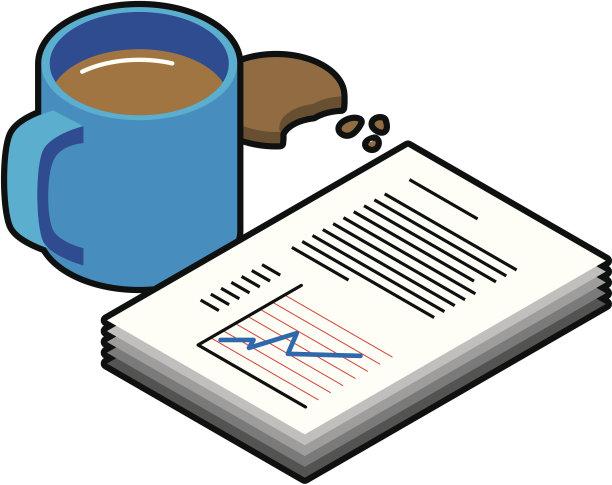 效率,宾馆套房,财务报告,饼干,雇用文件,无人,绘画插图,组物体,文档,彩色图片