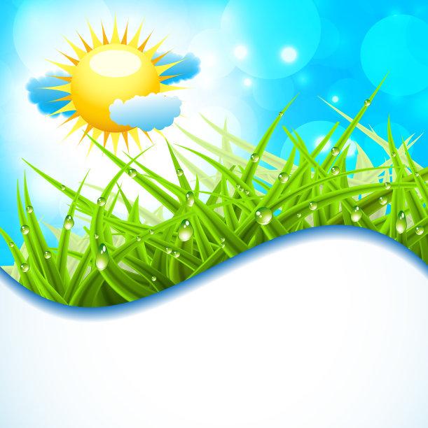 地形,春天,垂直画幅,水,天空,留白,云,无人,绘画插图,夏天